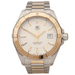 Tag Heuer Aquaracer Stainless Steel and 18K Yellow Gold WAY1151.BD0912 Watch