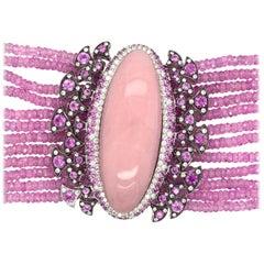 Sapphire Beaded Bracelets
