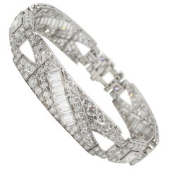 Art Deco Diamond Bracelet, circa 1920s