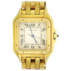 Cartier Panther Bracelet Quartz Wristwatch