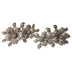 Repossi White Gold Diamond Stud Earrings