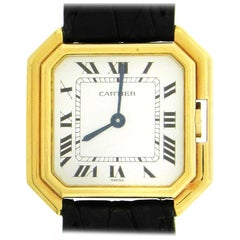 18K Gold Cartier Ceinture Wristwatch