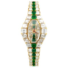 Piaget Yellow Gold Limelight Diamond and Emerald Watch