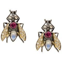 Sylvie Corbelin, Fly Earrings
