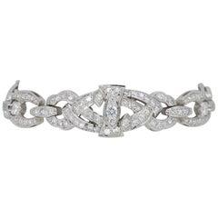 Vintage 5.00 Carat Diamond Link Bracelet