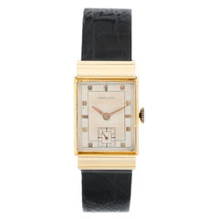 Hamilton Gordon 18 Karat Yellow Gold Watch