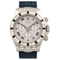 Rolex Cosmograph Daytona Diamond and Sapphire Watch Ref. 116599