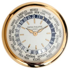 Patek Philippe & Co. World Time, Hours of The World Clock