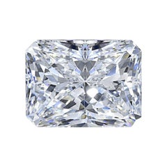 GIA Certified Radiant Cut Diamond 5.05 Carat F/VS2