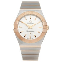 Omega Constellation Stainless Steel and 18K Yellow Gold 123.20.27.60.02.004