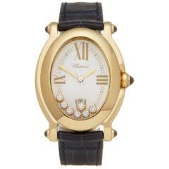 Chopard Happy Sport 7 Diamond 18K Yellow Gold 27/7000-23 Wristwatch