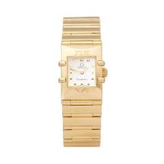 Omega Constellation Quadra 18K Yellow Gold 7951235 Wristwatch