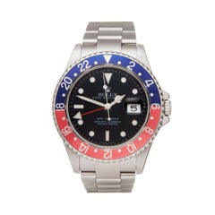 Rolex GMT-Master II Pepsi Stainless Steel 16710 Wristwatch