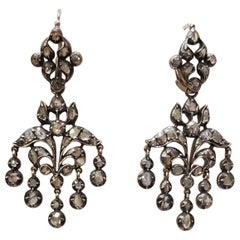Diamonds Chandeliers Earrings