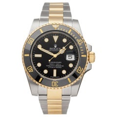 Rolex Submariner Stainless Steel and 18K Yellow Gold 116613LN