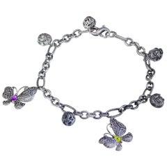 Platinum Chain Bracelets