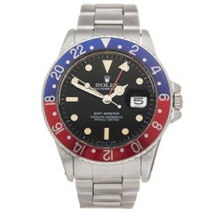 Rolex GMT-Master Stainless Steel 16750 Wristwatch