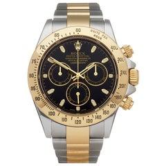 Rolex Daytona Stainless Steel and 18K Yellow Gold 116523 Wristwatch