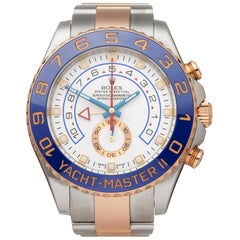 Rolex Yacht-Master II Stainless Steel and 18K Rose Gold 116681