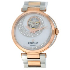 Eterna Grace Open Art 2943.60.69.1730 Diamond Mother of Peral Automatic Watch