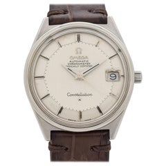 Vintage Omega Constellation Pie-Pan Reference 168.025 Watch, 1969