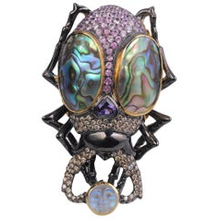 Sylvie Corbelin, One of a Kind Scarabeo Ring