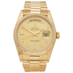 Rolex Day-Date 36 18K Yellow Gold 18238