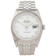 Rolex Datejust 36 Stainless Steel and 18K White Gold 16234