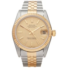 Rolex Datejust 31 Stainless Steel and 18K Yellow Gold 68273 Wristwatch