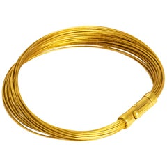 Tiffany & Co. 18 Carat Gold Wire Bracelet