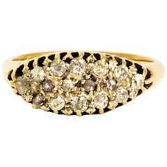 Edwardian Diamond and 18 Carat Gold Ring