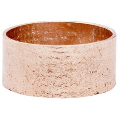 Paper Cigar Ring in 18 Karat Rose Gold by Allison Bryan