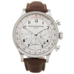 Baume & Mercier Chrono Stainless Steel 65687 Wristwatch