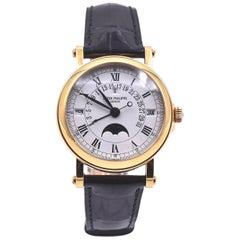 Patek Philippe 18 Karat Gold Retrograde Perpetual Calendar Watch Ref.5059J