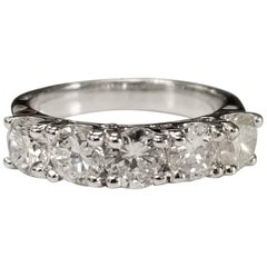 1.51 Carat Diamond Wedding Ring