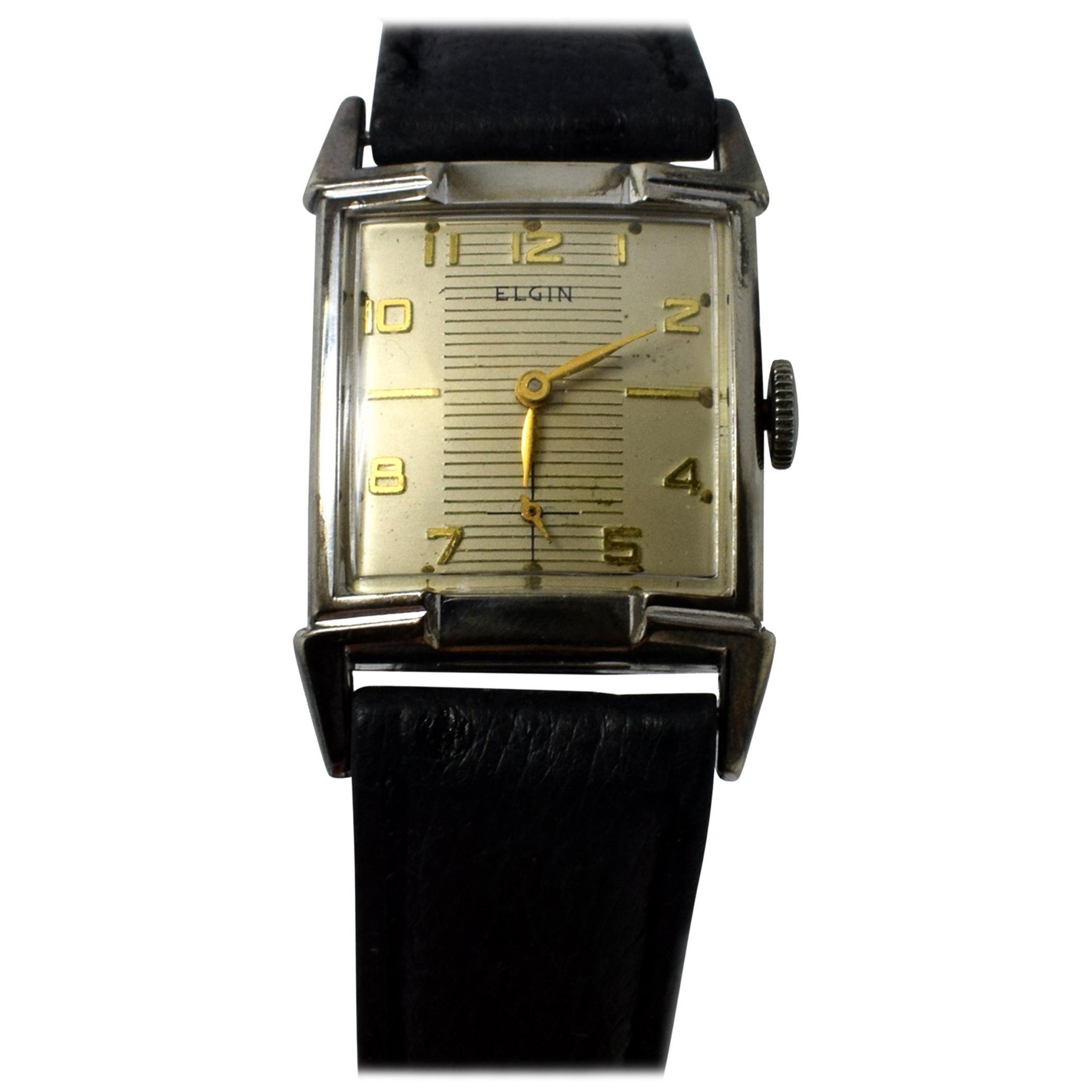 dating elgin wrist watches