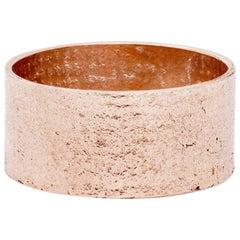 Paper Cigar Ring in 9 Karat Rose Gold by Allison Bryan