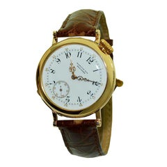 Patek Philippe for Marcus & Co. 18 Karat Solid Rose Gold Wristwatch, circa 1980s