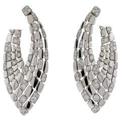 Impressive Palmiero Diamond Gold Earrings