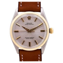 Rolex Oyster Perpetual Stainless Steel & 14K Yellow Gold ref 1005 circa 1966
