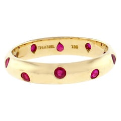 Tiffany & Co. Etoile Ruby Band Ring
