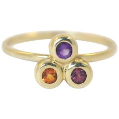 Emily Kuvin Colored Gemstone Stacking Ring