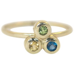 Emily Kuvin Colored Gemstone Stacking Rings