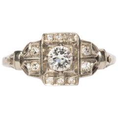 .30 Carat Diamond Platinum Engagement Ring