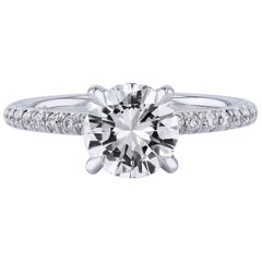 H&H 1.37 Carat Diamond Ring
