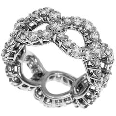 Harry Winston 3.06 Carat Diamond Loop by Harry Winston Platinum Ring