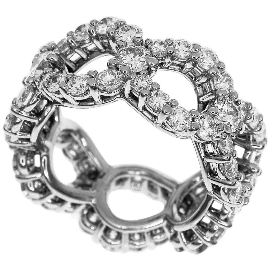 Harry Winston 3.06 Carat Diamond Loop by Harry Winston Platinum Ring