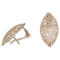 Buccellati Silver Filidoro Earrings