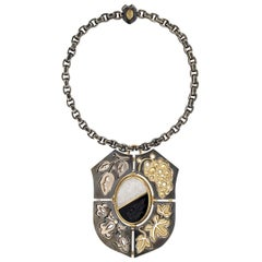 Blason Necklace Air/Terre by Elie Top