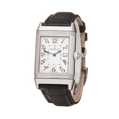 Jaeger-LeCoultre Reverso Duetto Stainless Steel 256.8.75 Wristwatch